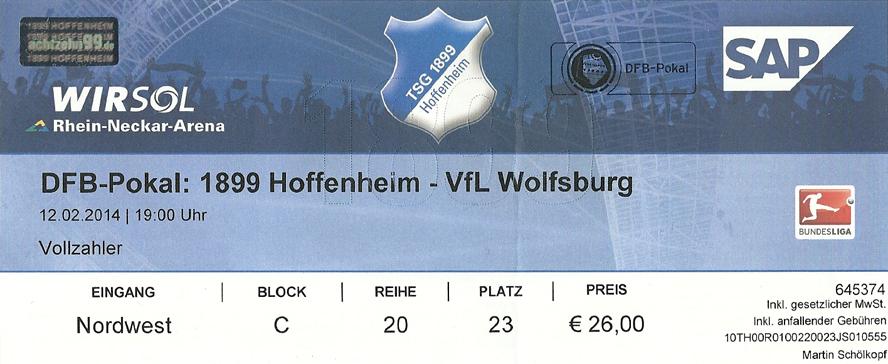 Hoffenheim Bremen Tickets